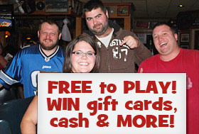 Free to Play! Win gift cards, cash, and MORE!